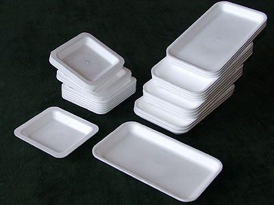 Expandable Polystyrene - Products - Trays